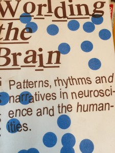 Patterns, rhythms and narratives in neuroscience and the humanities.