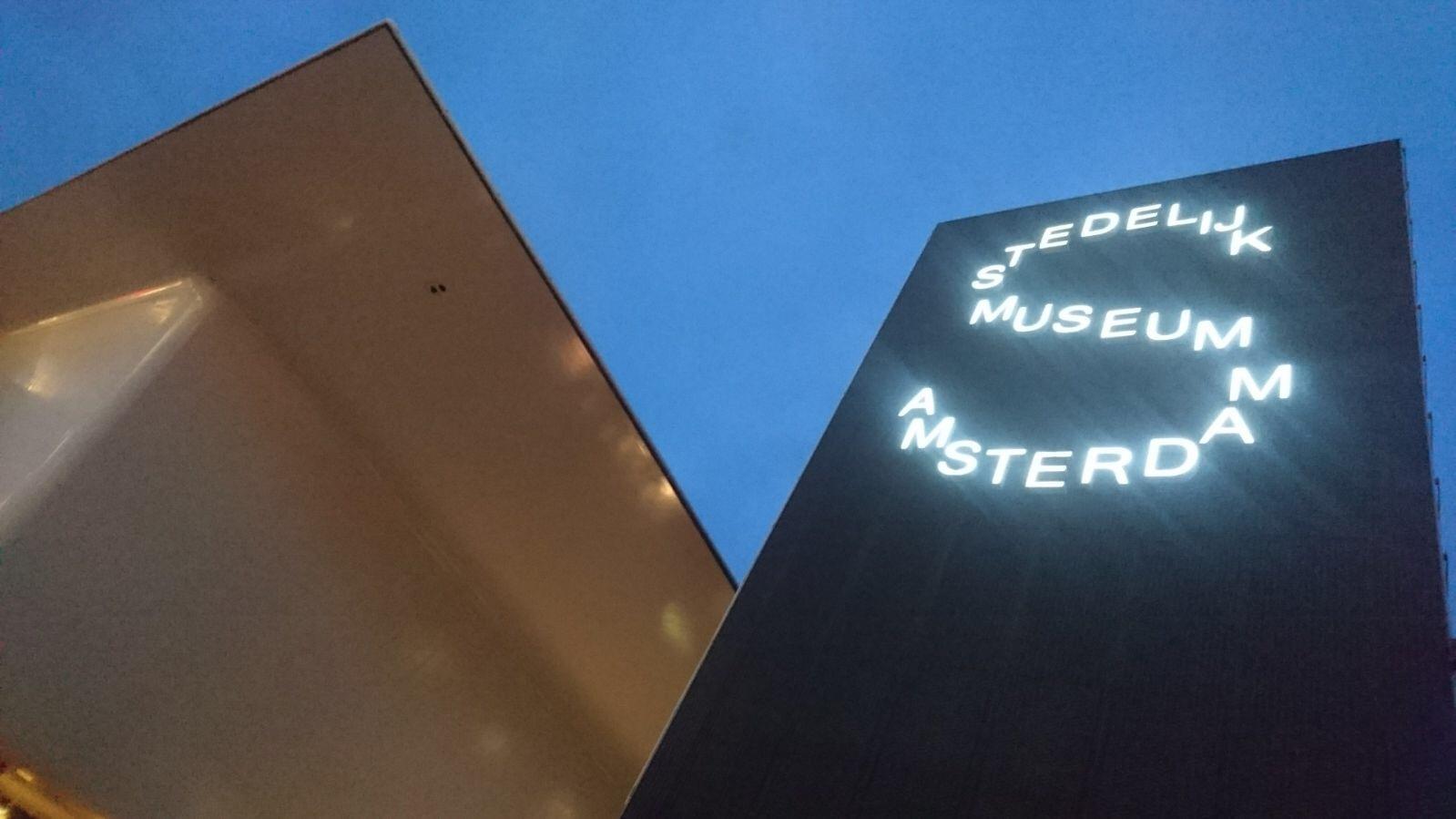 met onze  VR Game in  'T STEDELIJK MUSEUM Amsterdam