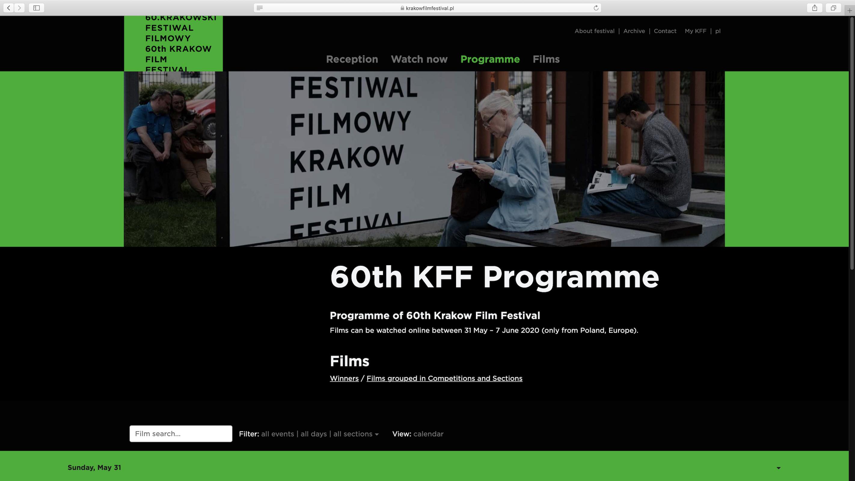 """ Are you there"" @ Krakow International Film Festival June 2020"