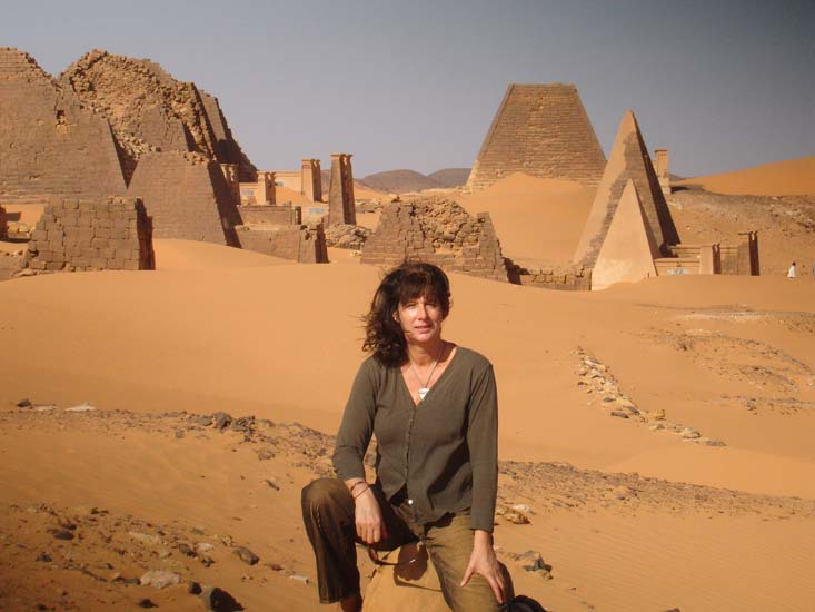 Maartje Nevejan in Sudan