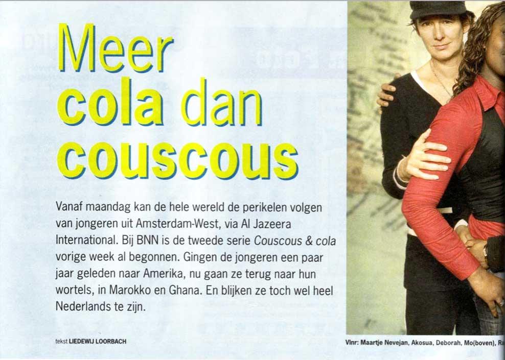 Couscous & cola – Parool