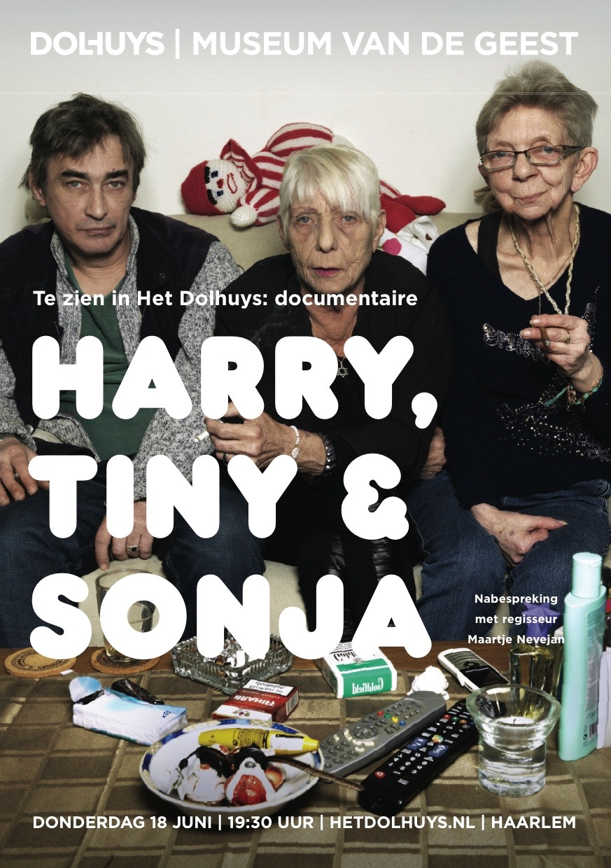 Dolhuys, vertoning van de film Harry, Tiny en Sonja…