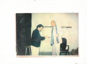 Frans Strijards geeft de regie door aan George Groot.